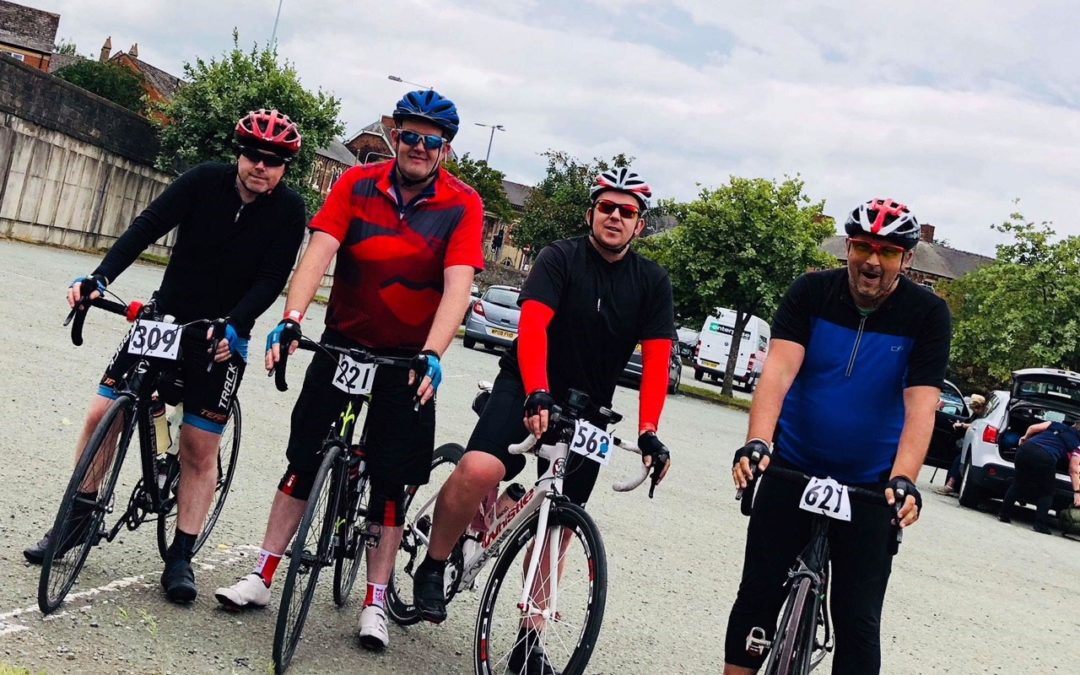 B2B Communications Ride Again to raise money for the Acorns Children's Hospice!